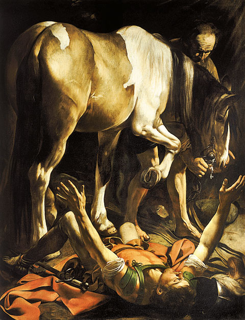 10 Conversion on the Way to Damascus Caravaggio c1600 1
