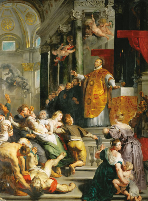 7 Peter Paul Rubens miracles of Saint Ignatius of Loyola 1618 1619